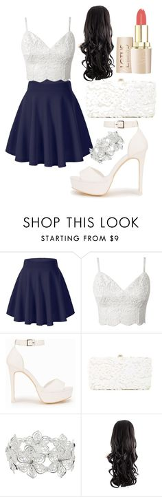 """""""Untitled #169"""" by lugavicaida ❤ liked on Polyvore featuring Nly Shoes, Deux Lux and M&Co"""