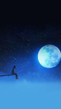 《 In the end, at the end of adversity, will be in full dream 》 // Gaia; Alone Boy Wallpaper, Night Sky Wallpaper, Jimin Wallpaper, Boys Wallpaper, Scenery Wallpaper, Galaxy Wallpaper, Wallpaper Backgrounds, Beautiful Moon, Bts Drawings