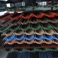 Roofing Tile Building Materials, Good Stone Coated Metal Roofing Sheet For Your House Roof, View Roofing Tile, San-gobuild Product Details from Singer-Ruser (HZ) Building Materials Tech. Co., Ltd. on Alibaba.com Metal Roof Tiles, Steel Roof Panels, Roof Repair, House Roof, Building Materials, Home Remodeling, Valance Curtains, Home Goods, Home Improvement