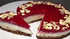 Bez cukru, bez múky a iba za 10 minút pripravený nepečený cheesecake s malinami. Manžel si ho nevie vynachváliť! - Báječná vareška Tiramisu, Cheesecake, Ethnic Recipes, Mascarpone, Cheesecakes, Tiramisu Cake, Cherry Cheesecake Shooters