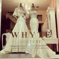 Whyte Couture. Toronto Boutique. Couture Gowns. Yorkville.