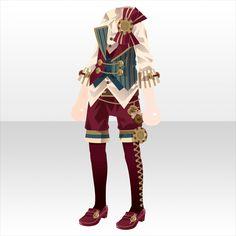 上半身/インナー カフェ・ド・フェ・ボーイベストスタイルAレッド Anime Outfits, Boy Outfits, Cute Outfits, Drawing Anime Clothes, Clothing Sketches, Cocoppa Play, Character Outfits, Costume Design, Custom Clothes