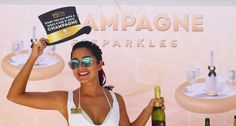 Pop the champagne and don't miss the next #ChampagneParty!  ¡A disfrutar del Champagne, no te puedes perder de la siguiente Champagne Party! #TheRhythmExperience