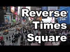 More Info: http://improveverywhere.com/2013/04/01/reverse-times-square/ Over 2,000 people move backwards through Times Square Subscribe on YouTube: