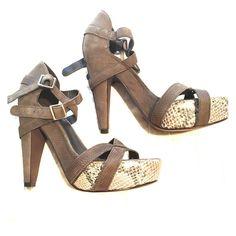 Elizabeth And James Platform Sandals
