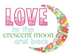 """lilly lilly! """"love to the crescent moon and back"""""""