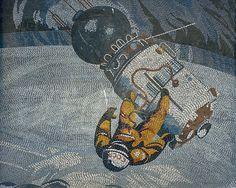 Großartiges Mosaik aus der DDR. #ddrmuseum