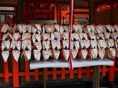 Fushimi Inari Shrine, fox ema