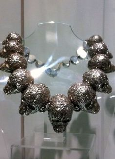 Jean Boggio Skulls necklace