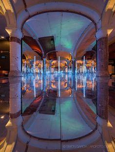 """Instalación """"Miralls"""" en el Olympus Perspective Playground, Barcelona, 2016 - A2arquitectos"""