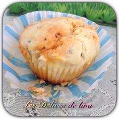 Petit muffin salé : chorizo et Kiri ! Une recette gourmande facile à faire ! #kiri #recette #muffin #chorizo #gourmand