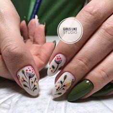 152 cute nail art designs for short nails 2019 page 26 nailart Cute Nail Art Designs, Nail Designs Spring, Spring Nail Art, Spring Nails, Summer Nails, Classy Nails, Cute Nails, Pretty Nails, Nail Art Mignon