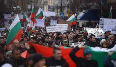 Bulgarians protest vs. high energy prices, corruption & mafioso! via RT