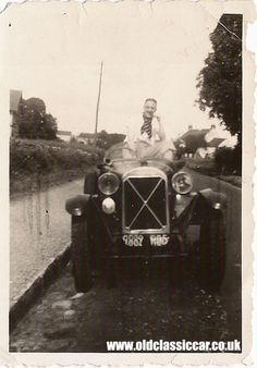 The French Salmson sportscar. 1920s