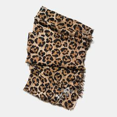 Wild Beast Print Shawl ~Coach, $225