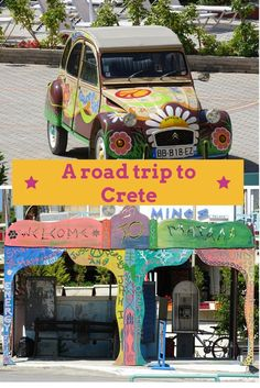 Discover the town of hippies Matala on a road trip to South Crete