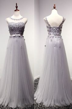 2016 Newest Charming Lace Long Cap Sleeves Prom Dresses