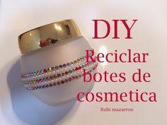 Diy. Reciclar botes de plastico en botes de lujo - YouTube