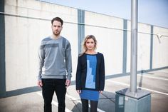 EISBÖRG Streetwear 2015  Kollektion Frühling/Sommer 2015  Haar&Make-up: Antje Dahm – Maskenbild Design Modelle: Alexandra Böttcher & Matthias Grote Designer: EISBÖRG streetwear Fotografie: Tobias Ritz