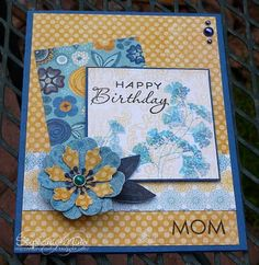 Happy Birthday Mom//I didn't make you this card (though I could have, but I suck) so the pinned version will have to do <3