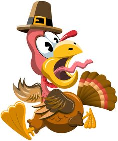 What happened when the turkey got into a fight? He got the stuffing knocked out of him!
