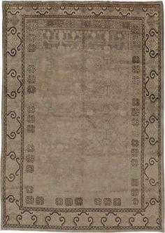 Antique Khotan Rug, No. 16471 - 4ft. 9in. x 6ft. 10in.