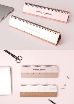 Look at this cute planner for your desk! The 365 Days Weekly Standing Scheduler features a simple weekly plan design covering 54 weeks. With the foldable cardboard bottom you can stand it on any flat surface! The translucent cover and sturdy spiral binding add protection and durability. It also has gold foil accents! It's the perfect way to keep track of your week at a glance without having to pull out your pocket planner! Check it out and always stay on top of your events and appointments!
