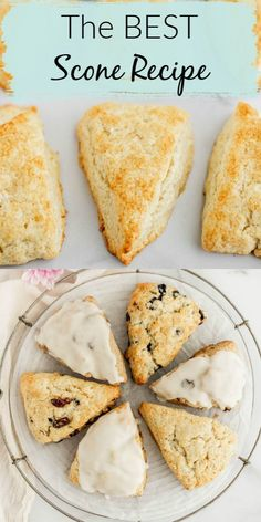 The BEST Scone Recipe - Do you want to learn how to make the best scone recipe? These scones are delicious, soft, light, an - # breakfast recipes Best Scone Recipe, Perfect Scones Recipe, Scone Recipe With Milk, Coconut Scones Recipe Easy, Recipe For Scones, My Recipes, Favorite Recipes, Crack Crackers, Gastronomia