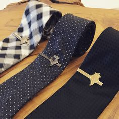 | Do To High Demand, Gentleman's Culture Is Bringing Back GC Tie Clips In Three Amazing Colours | Gold • Black • Silver | Arriving This Week • Check Back Daily at www.GentlemansCulture.com Tie Clips, Black Silver, Gentleman, Bring It On, Colours, Amazing, Check, Clothing, Accessories
