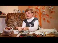 """""""Ручная работа"""" Окрашивание шарфа природными материалами и брошь из кожи (30.10.2013) — Яндекс.Видео"""