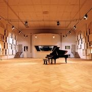 Teldex Studio in Berlin - a marvelous acoustic space and state of the art recording equipment. This is where the Goldberg Variations were recorded.
