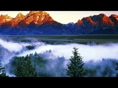 size: Photographic Print: The Grand Tetons from the Snake River Overlook at Dawn, Grand Teton National Park, Wyoming, USA by Dennis Flaherty : Artists Mountain Wallpaper, Forest Wallpaper, Hd Wallpaper, Live Wallpapers, Grand Teton National Park, National Parks, Mantra, Deva Premal, Sunrise Mountain