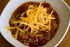 Venison Chili Recipe List: 5 choices to make for your next meal - - [ Looking for the perfect deer chili recipe? If it& worth eating, it& probably on this list. Deer Recipes, Wild Game Recipes, Chili Recipes, Venison Chili Recipe Easy, Venison Recipes, Venison Meals, Venison Jerky, Turkey Recipes, 357 Magnum