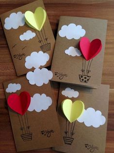 diy birthday cards for kids 40 Easy But Awesome DIY Crafts Ideas For Kids Handmade Birthday Cards, Diy Birthday, Valentine Crafts, Valentine Day Cards, Valentines, Mothers Day Crafts, Crafts For Kids, Easy Crafts, Easy Diy