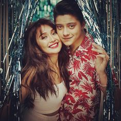 """I fought for you."" ""Break-in mo muna ako tapos liligawan kita ulit."" ""I love you more than you love me. Silly Photos, Cute Photos, Cute Couples Goals, Couple Goals, Kathryn Bernardo Photoshoot, Daniel Johns, Photoshoot Concept, Daniel Padilla, John Ford"
