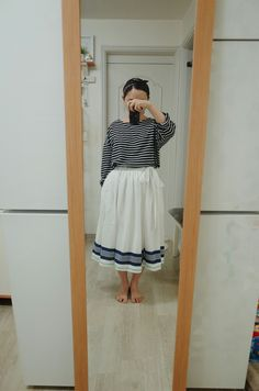 Wrap skirt (made by yeomi)