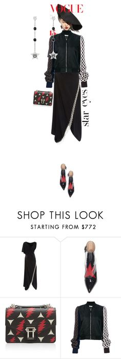 """""""Thunderstorms"""" by ladyarchitect ❤ liked on Polyvore featuring J.W. Anderson, Gucci and StarOutfits"""