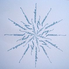 snowflake tattoo- with the words faith, hope, and love based on 2 Corinthians 13:13