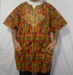 473af1107f6 Details about Unisex Mens Womens African Dashiki Shirts Hippie Tribal  Kaftan Boho Blouse Tops