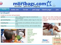 Stitch some simple Morsbags and help save the planet!