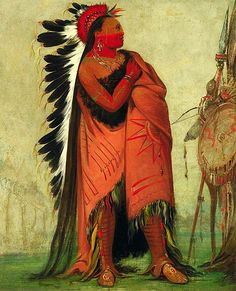 Native Americans knew about the power of hair!