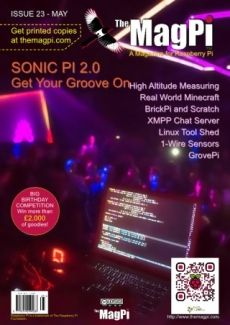 The MagPi Magazine Mayo 2014 ya disponible para su descarga - Raspberry Pi
