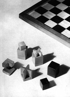 Bauhaus Chess Bauhaus Architecture, Architecture Design, Design Art, Interior Design, Chess, Objects, Germany, Life, Inspiration
