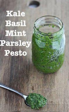 Kale Basil Mint Parsley Pesto