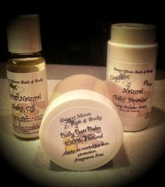 Baby Bath and Body Products 100 Natural by DesertMoonBathNBody, $14.95