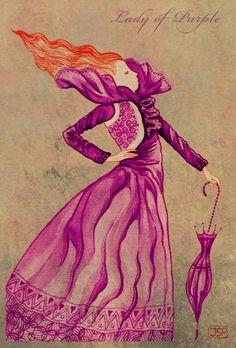 """lady of purple: """"... sebab galau mesti dihalau...."""""""