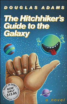 I remember Hitchhiker's Guide to the Galaxy as being hilarious when I read it in college. Don't know about the other 49 fantasy books here, but plan to peruse the list when I have time.