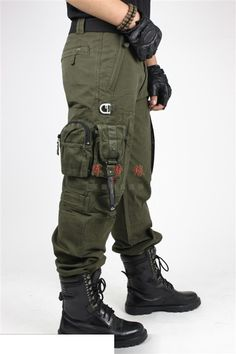 Tactical Pants Military - Multiple Pockets - 2 Styles