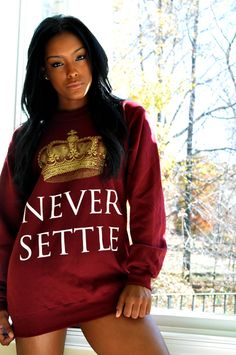 Dreams of Triumph Clothing Never Settle Crewneck Kourt, 22, DMV Submitted by: www.dreamsoftriumph.bigcartel.com photographer:@jetset_loso