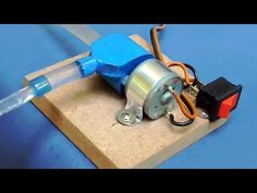 How to Make Smallest Water Pump - Science Project - YouTube
